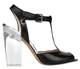 Lucite Heels