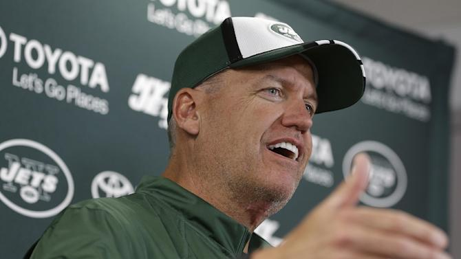 Rex, Jets 'not running' from being confident