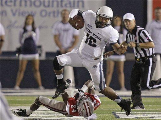 Keeton, Williams lead Utah State over UNLV 35-13