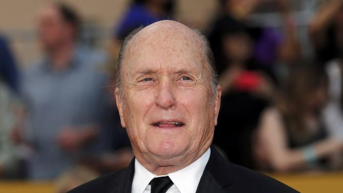 Robert Duvall arrives at the 21st annual Screen Actors Guild Awards in Los Angeles