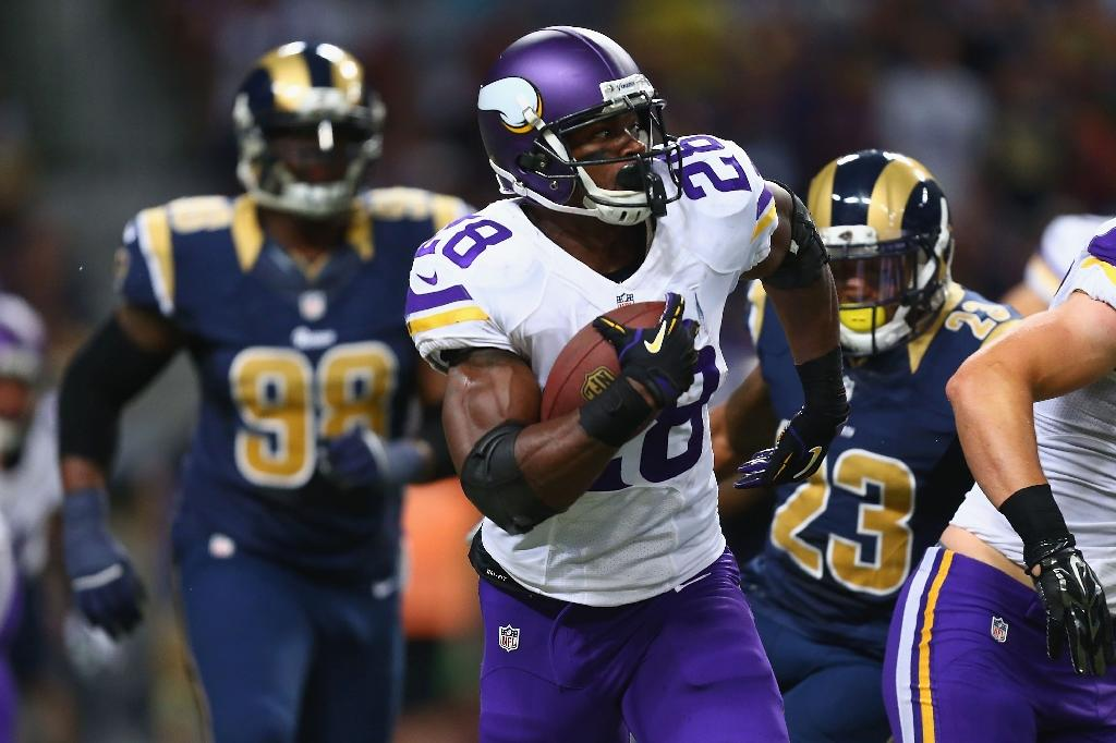 Commissioner reinstates Vikings rusher Peterson