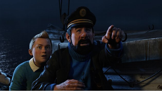 The Adventures of Tintin 2011 Paramount Pictures