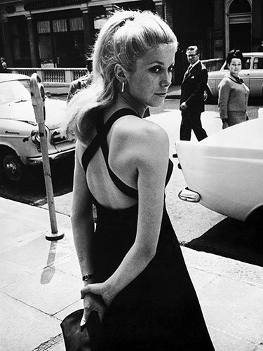 Catherine Deneuve in London, 1964