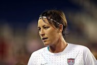 US international Abby Wambach, pictured December 15, 2012, will play for the Western New York Flash in the new National Women's Soccer League, organizers said
