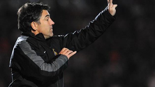 Wolves boss Dean Saunders (PA Photos)