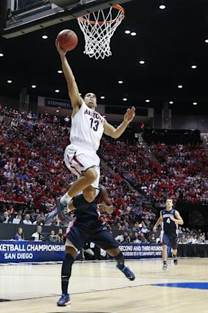 Arizona beats Zags 84-61 to reach Sweet 16