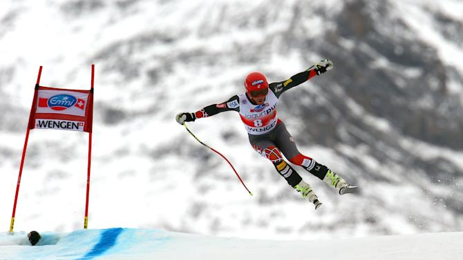 US racer Goldberg presses Olympic downhill claim