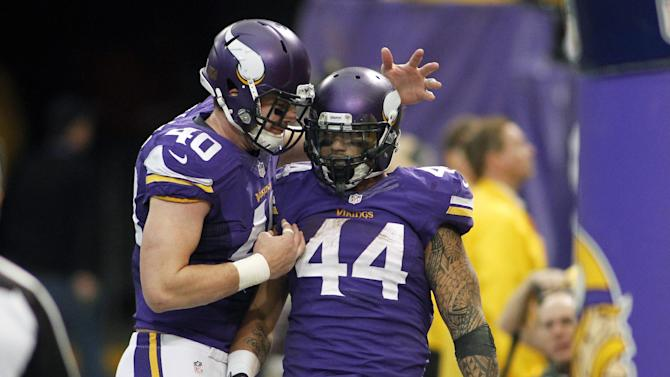 Vikings backups set to return to background