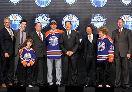 Edmonton Oilers at 2012 NHL draft Getty Images