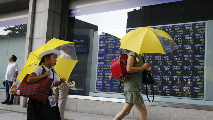 Asia stocks gain but China economy caution lingers
