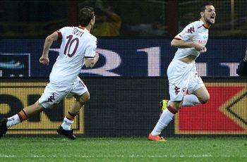 Destro delighted to fire Roma into Coppa Italia final
