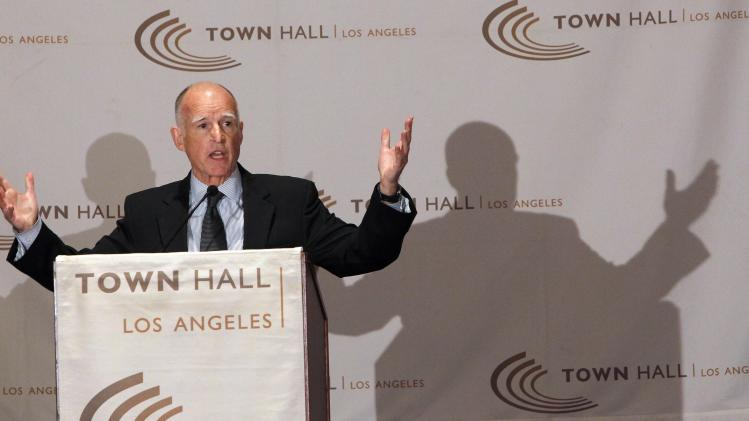 Brown pleads for votes for struggling tax hike