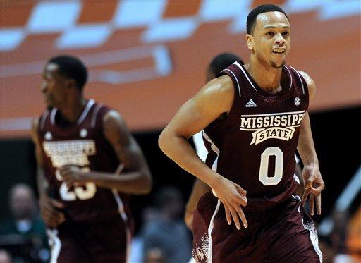 Stokes, Tennessee beat Mississippi State 72-57