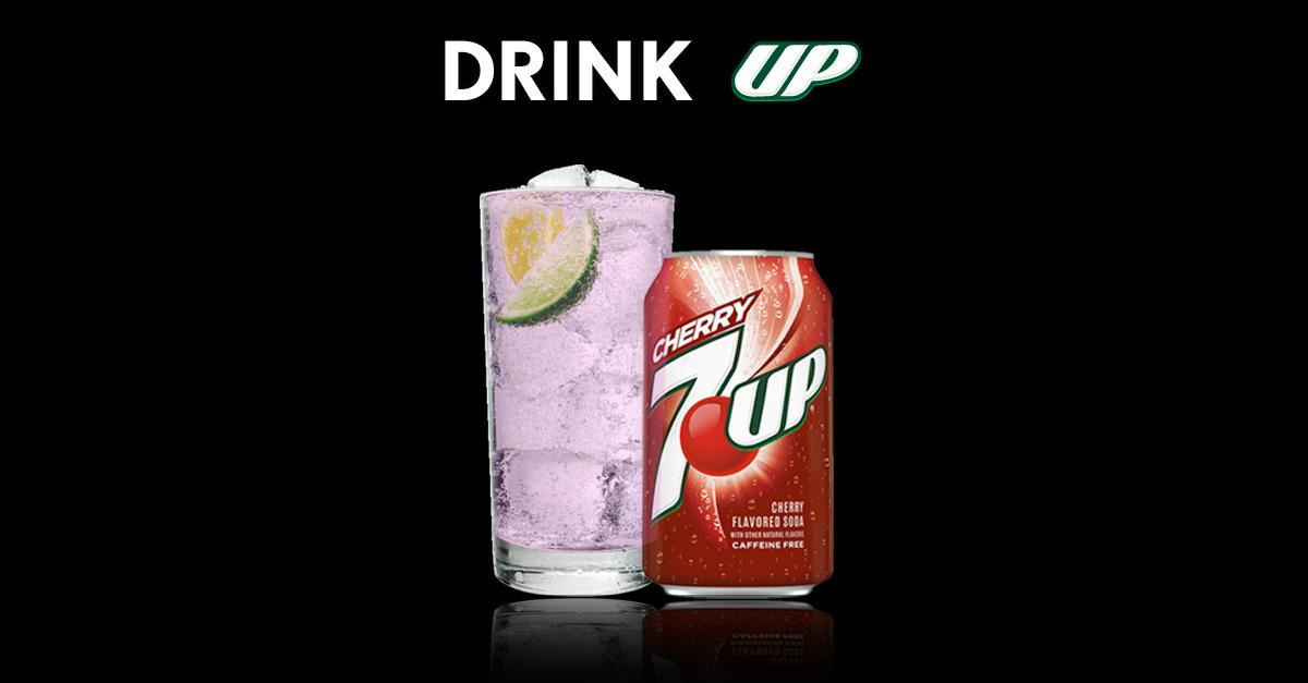 Drink UP Every Day with Cherry 7UP®
