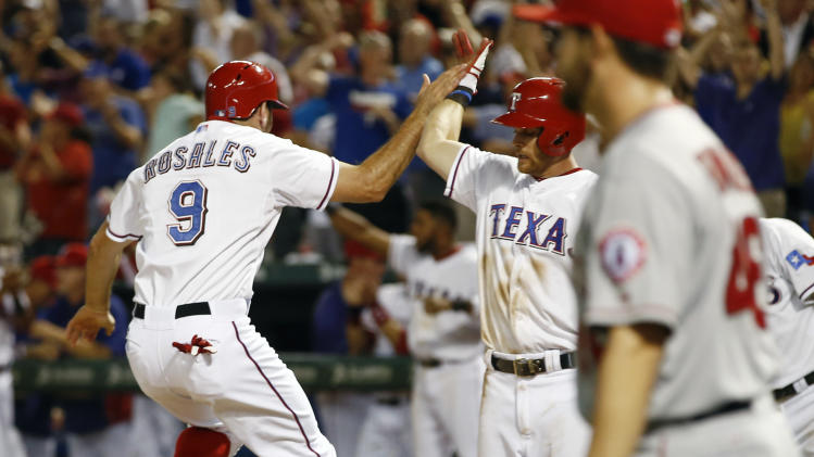 Profar's pinch HR in 9th leads Rangers over Angels