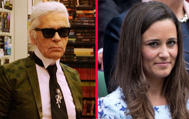 Karl Lagerfeld encense Kate et enfonce Pippa Middleton