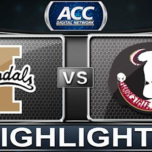 Idaho vs Florida State | 2013 ACC Football Highlights