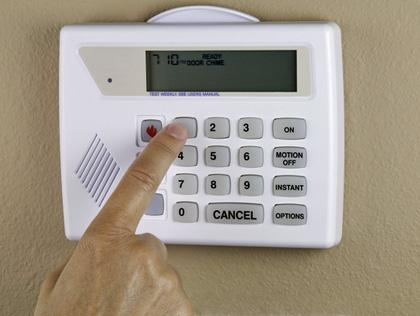 Invest in a home alarm
