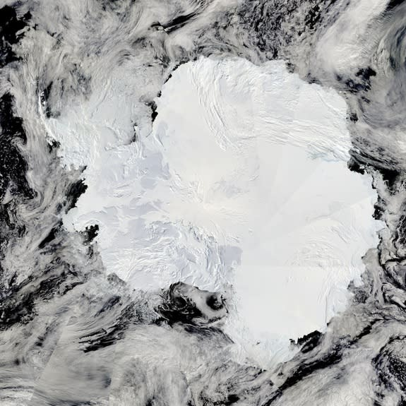 Billions of Tons of Methane Lurk Beneath Antarctic Ice