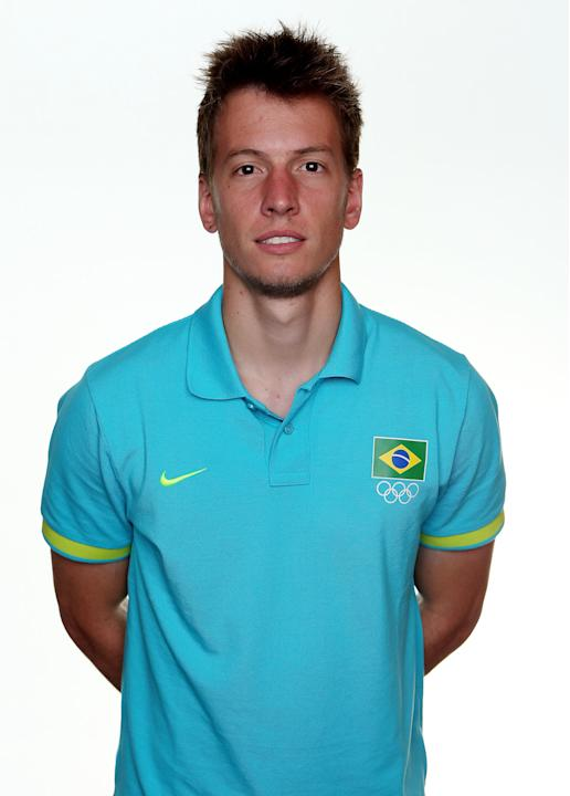 Brazil Men's Official Olympic Football Team Portraits