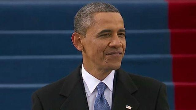 What Obama's inaugural address reveals about his second term