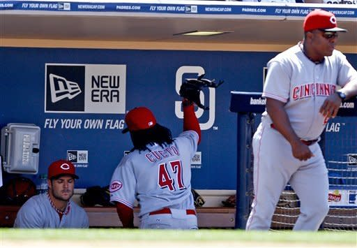 Bruce & Ludwick hit consecutive HRs, Reds beat SD