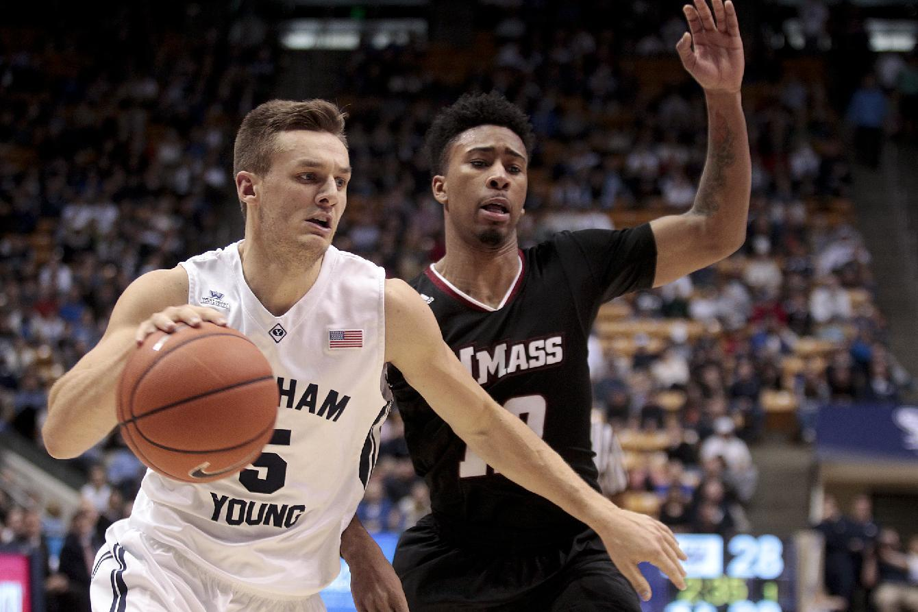 Scoring change gives BYU star NCAA's career triple-double record