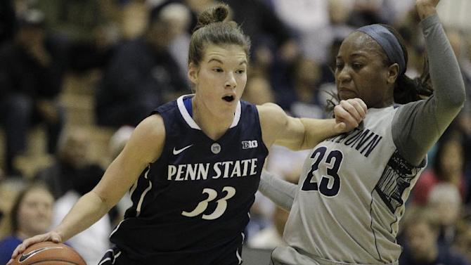 Lucas leads Penn State women past Georgetown