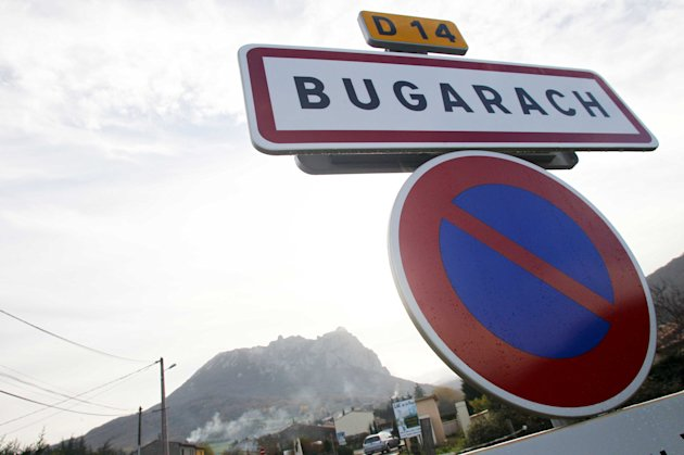 Some doomsday believers think that the village of Bugarach will be the only part of Earth to be spared (Image: Rex)