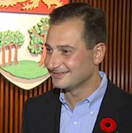 P.E.I. Premier Robert Ghiz does not expect he will look good with a moustache.
