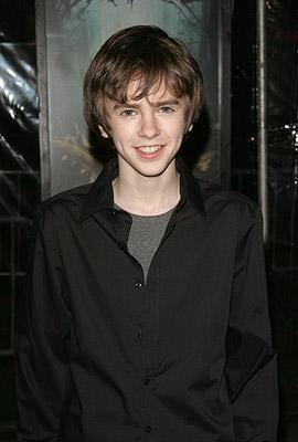 Freddie Highmore at the New York City premiere of Paramount Pictures' The Spiderwick Chronicles