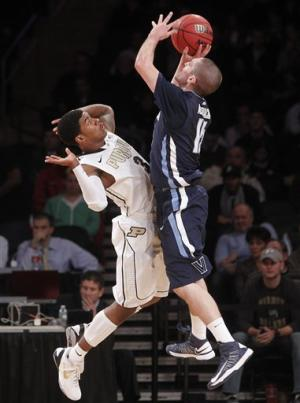 Villanova beats Purdue in OT in 2K Sports Classic