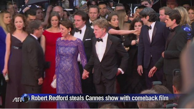 Redford steals Cannes show with comeback film