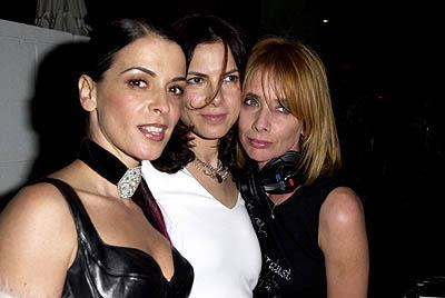 "Annabella Sciorra, Joyce Hyser and Rosanna Arquette WWD's ""Black, White and Diamonds"" Pre-Oscar Party Beverly Hills, CA 3/21/2001"