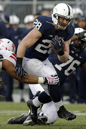 No. 14 Wisconsin braces for PSU's bruising Zwinak