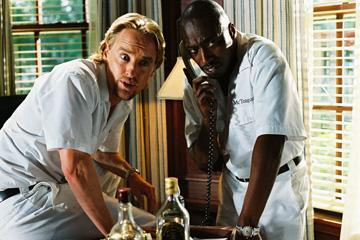 Owen Wilson and Eddie Griffin in THINKFilm's The Wendell Baker Story