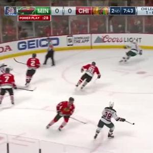 Wild at Blackhawks / Game Highlights