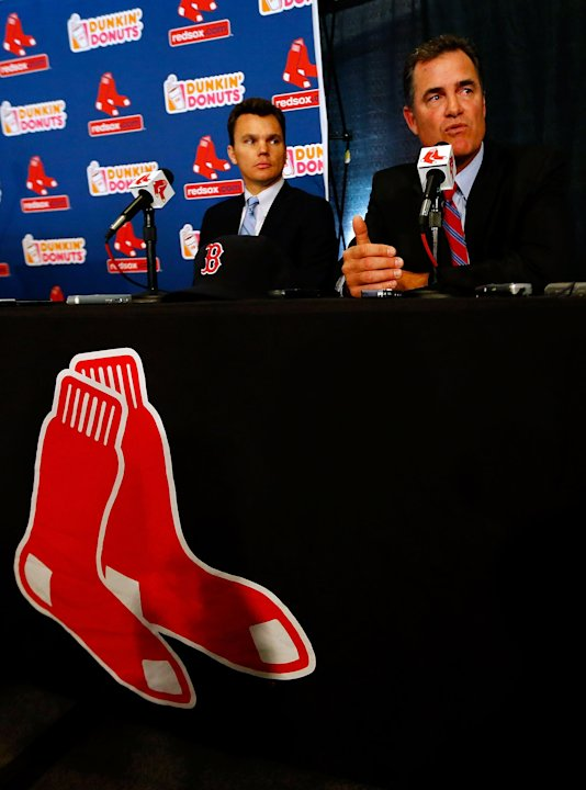 Boston Red Sox Introduce John Farrell