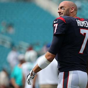 Houston Texans quarterback Brian Hoyer will start Sunday vs. Saints