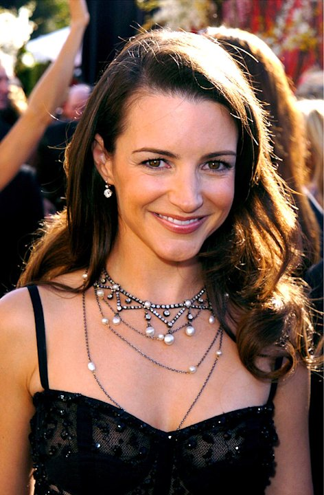 Kristin Davis at The 56th Annual Primetime Emmy Awards. 