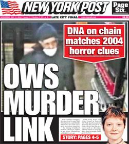 Occupy DNA 'Murder Link' Now Thought to Be Lab Error