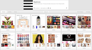 Sephora Snags Beauty Sales with Pinterest image sephora pinterest