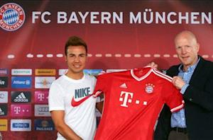 Guardiola's first strike: How Bayern landed 'talent of the century' Gotze from its greatest rival