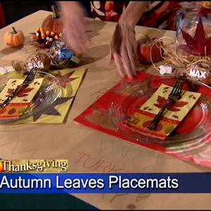 Create A Crafty Kids Table For Thanksgiving!