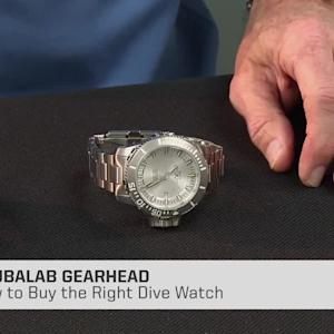 How to Buy the Right Dive Watch