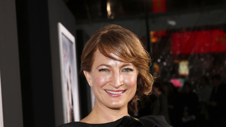 "Zoe Bell arrives at the premiere of ""Hansel & Gretel Witch Hunters"" on Thursday Jan. 24, 2013, in Los Angeles.  (Photo by Todd Williamson/Invision/AP)"