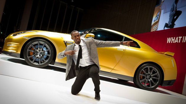 Photos: Usain Bolt gets a …