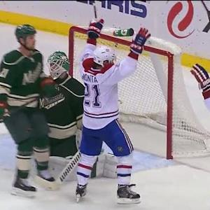 Brian Gionta tallies on the deflection