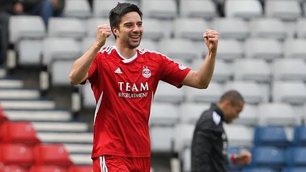 Experienced striker Rory Fallon was released by Aberdeen at the end of last season
