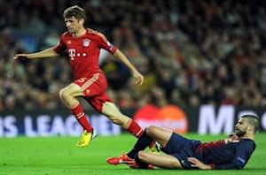 Muller: Bayern extremely fired up to win Champions League